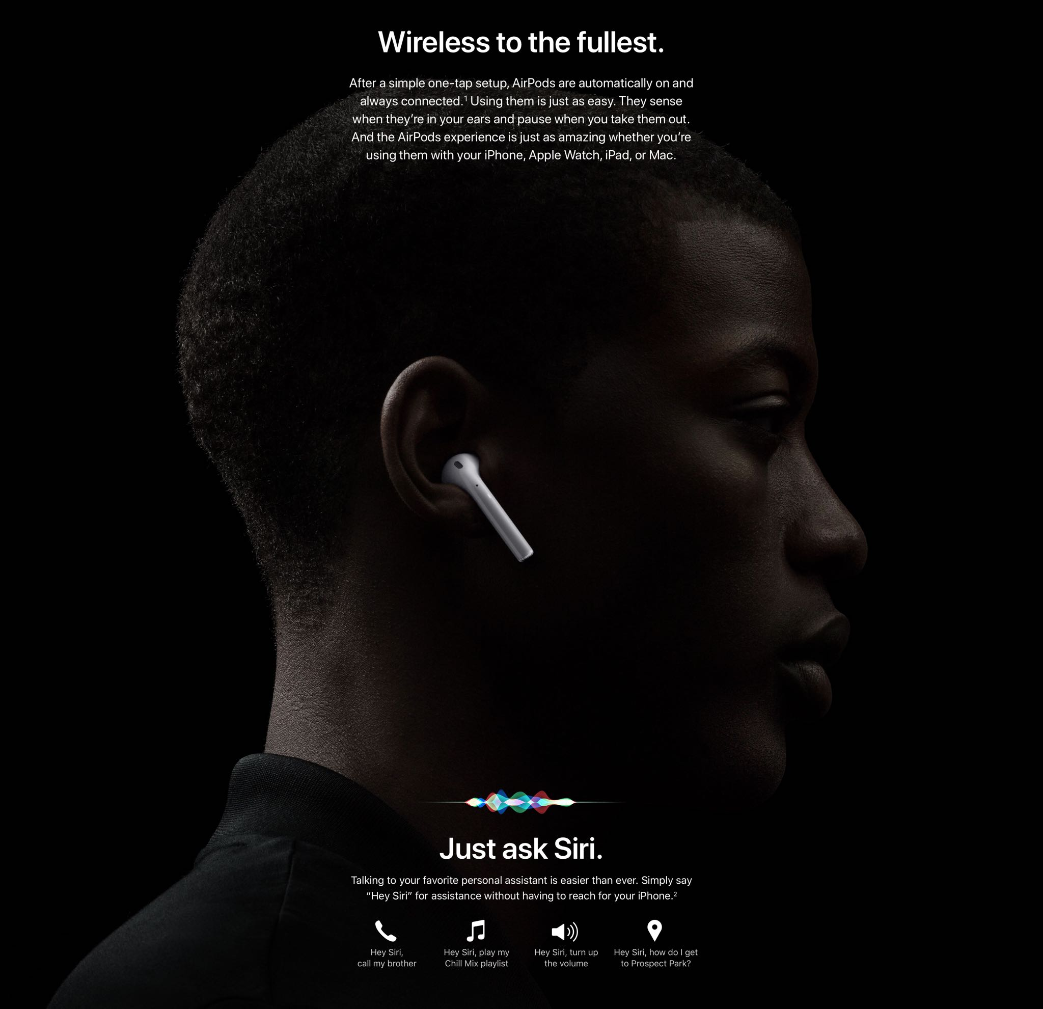 AirPods 2 are powered by the new Apple H1 chip