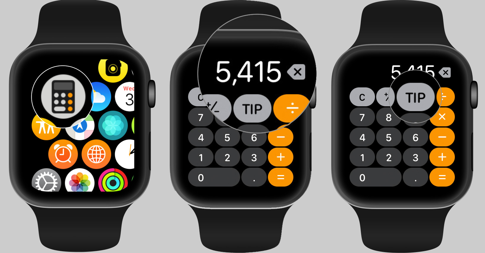 How to use the Apple Watch calculator app