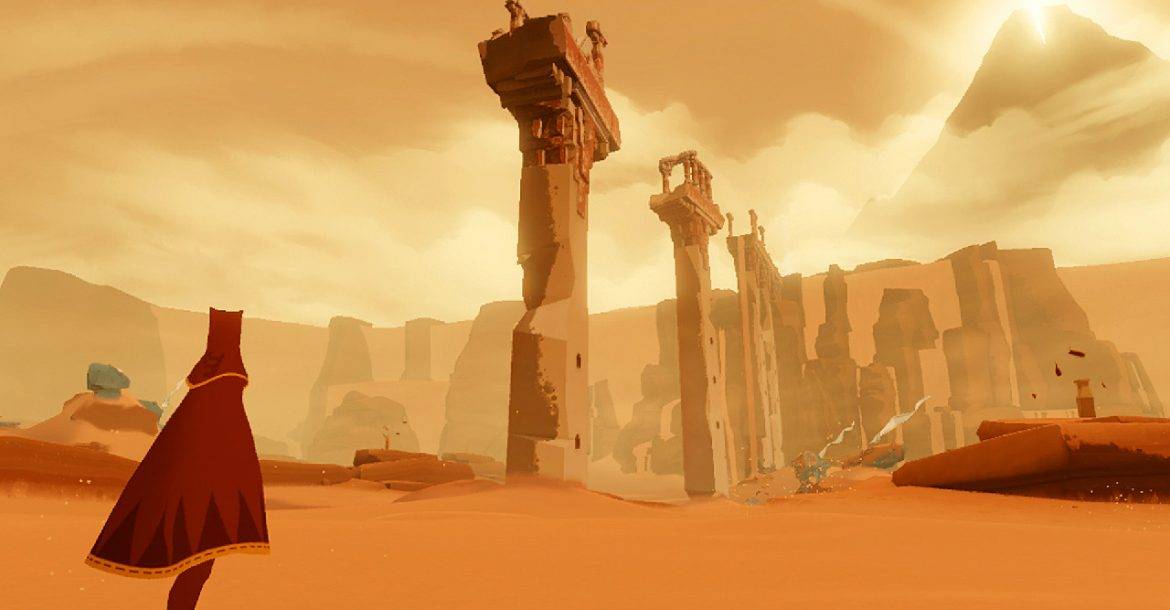 Journey has become playable on iOS-based devices